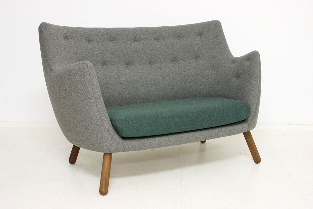 Poet Sofa Fabric Mainline Flax Finn Juhl Onecollection Galerie Kissthedesign