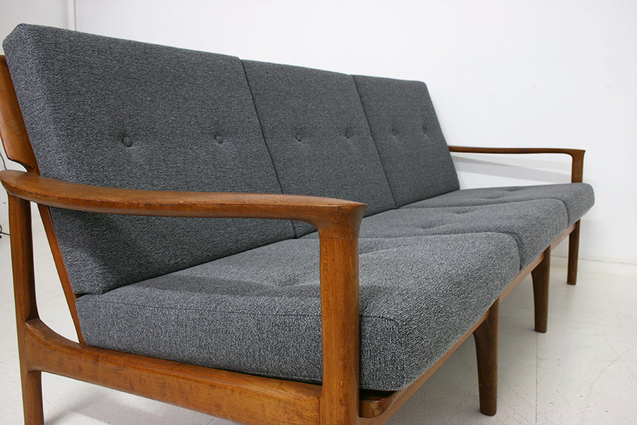 Danish design sofas vintage sofa mid century danish design for Sofa 60er jahre