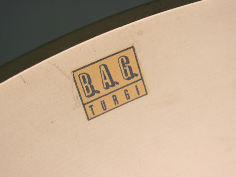 Étiquette années 30 de Bag Turgi