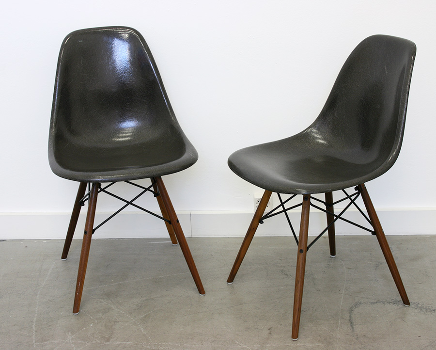 Chaises dsw eames herman miller lausanne suisse for Galette chaise eames dsw