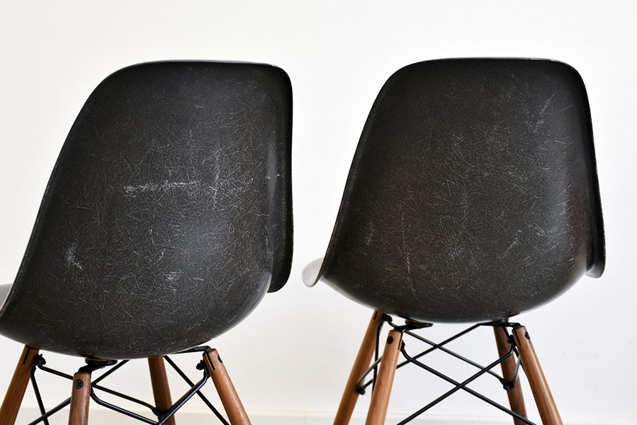 Suite De 6 Chaises DSW Charles Ray Eames Herman Miller