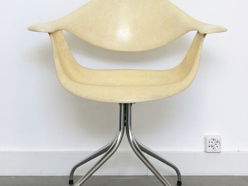 Fauteuil DAF swag leg, George Nelson, Herman Miller