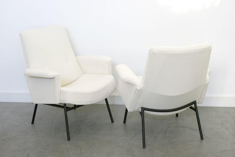 Paire de fauteuils SK660, pierre Guariche, Steiner