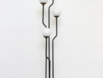 Lampe sur pied à quatre flammes, Goffredo Reggiani