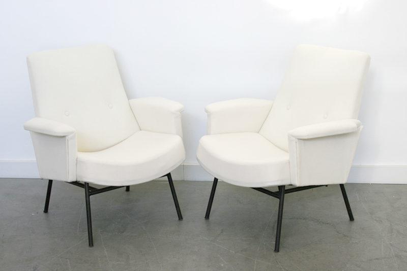 Paire de fauteuils SK 660, pierre Guariche, Steiner