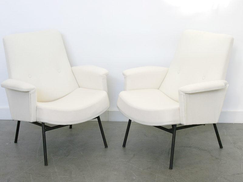 SK 660 armchairs, pierre Guariche, Steiner