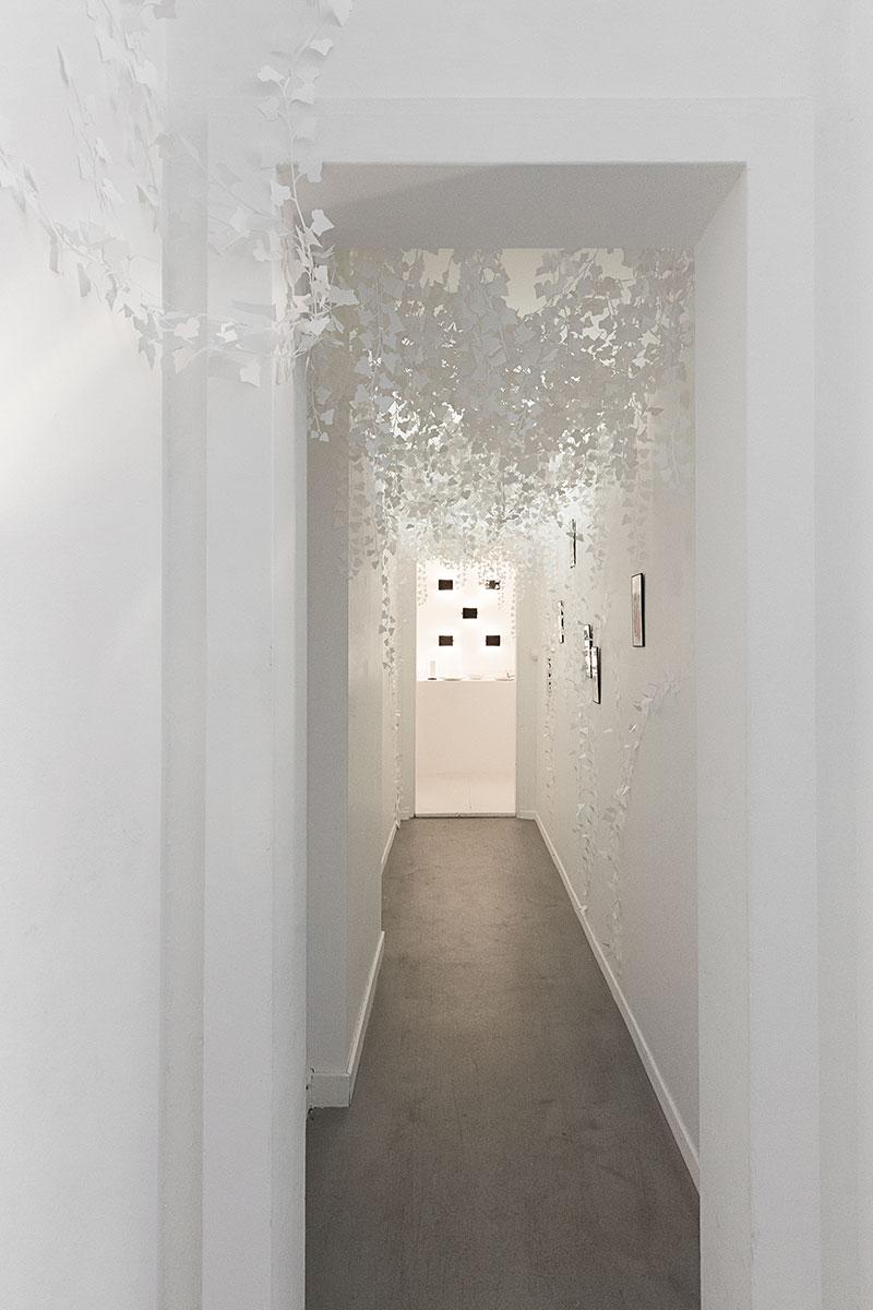 Vue de l'exposition Anaëlle Clot. Photo: Julien Palmilha