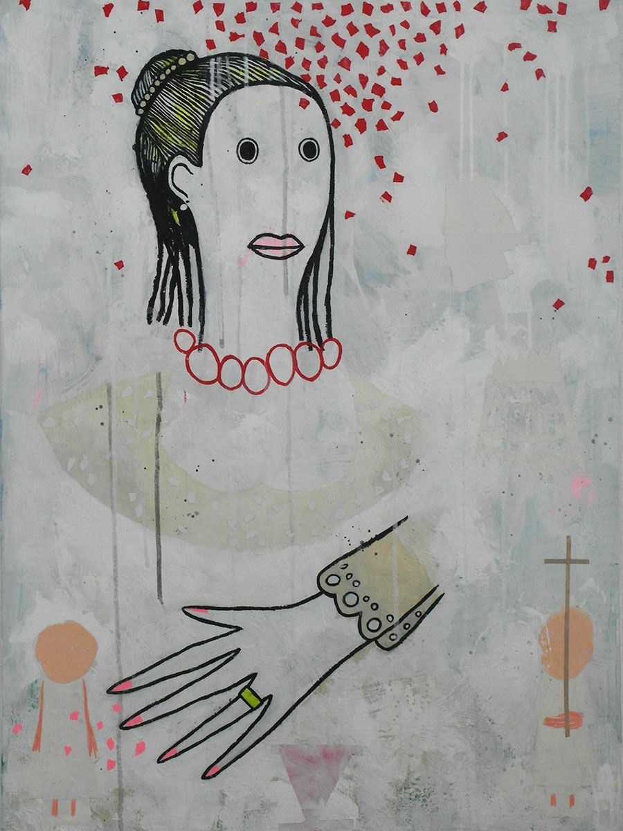 Christophe Lambert, The Bride, 2016