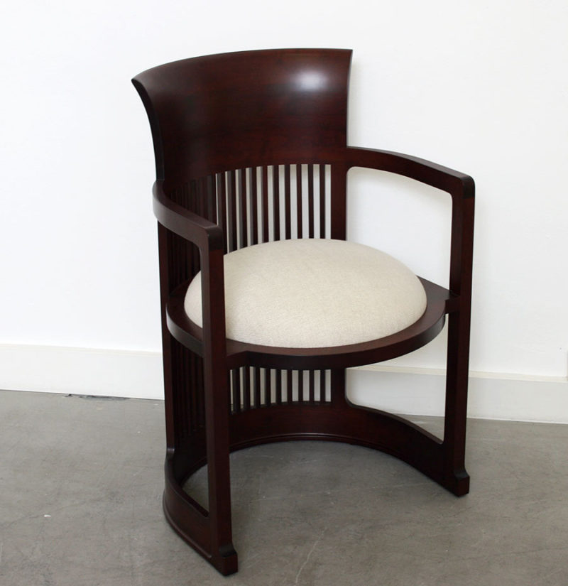 606 Barrel Chair, Frank Lloyd Wright, Cassina