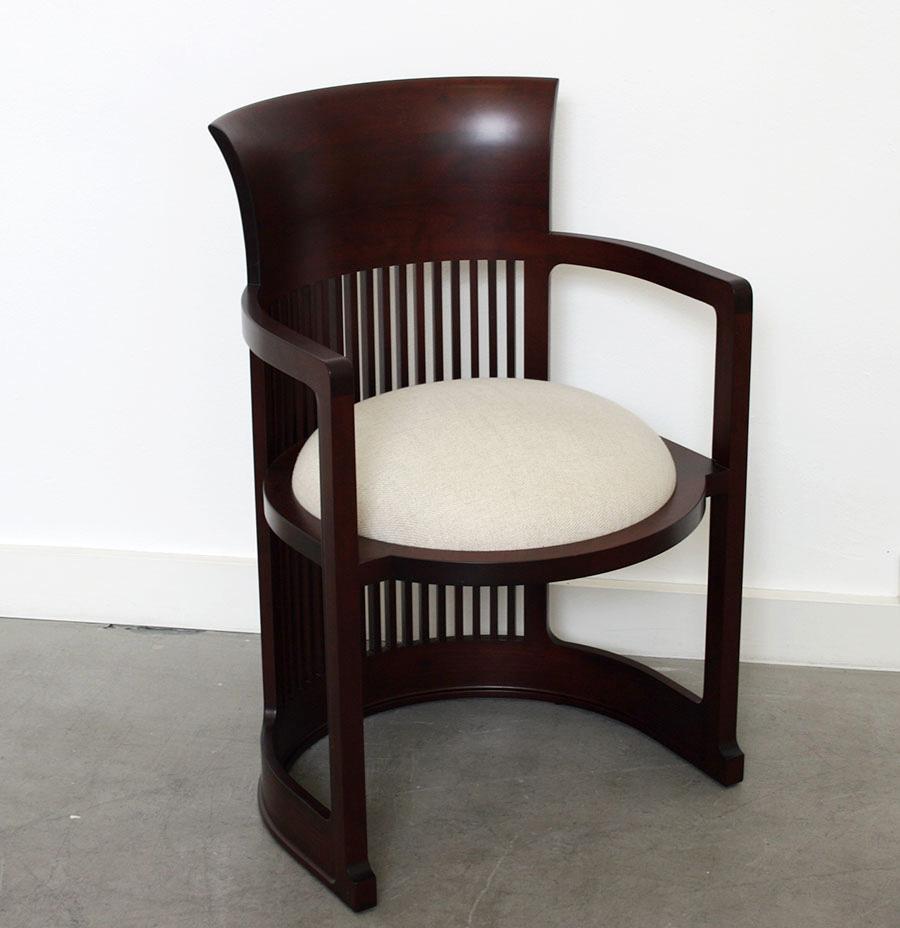 Frank Lloyd Wright Barrel Chair Cassina 20th Century