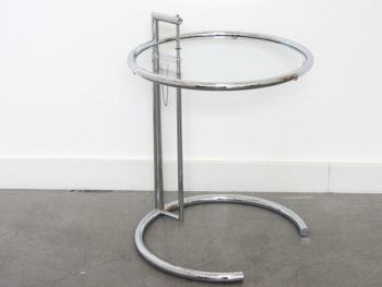 Ajustable table E 1027, Eileen Gray, Classicon