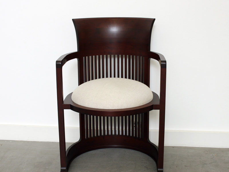 Sessel 606 Barrel Chair, Frank Lloyd Wright, Cassina