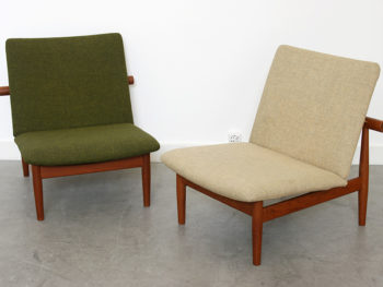 Paire de fauteuils Japan, Finn Juhl, France & Son