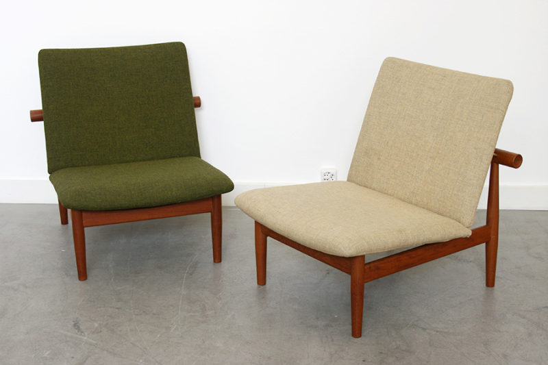 Japan chairs, Finn Juhl, France & Son