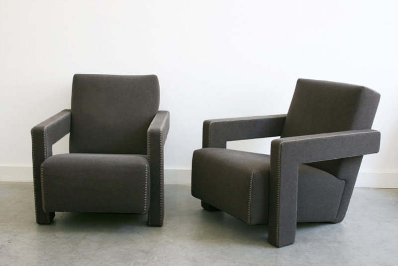 Sesselpaar Utrecht, Gerrit T. Rietveld, Cassina