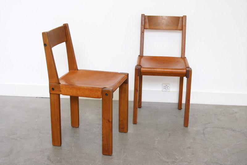 4er Set S24 Stühle, Pierre Chapo