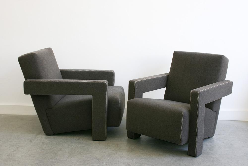 Gerrit Rietveld Fauteuils Utrecht Cassina Lausanne
