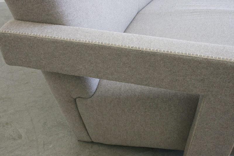 Utrecht sofa, Gerrit T. Rietveld, Cassina