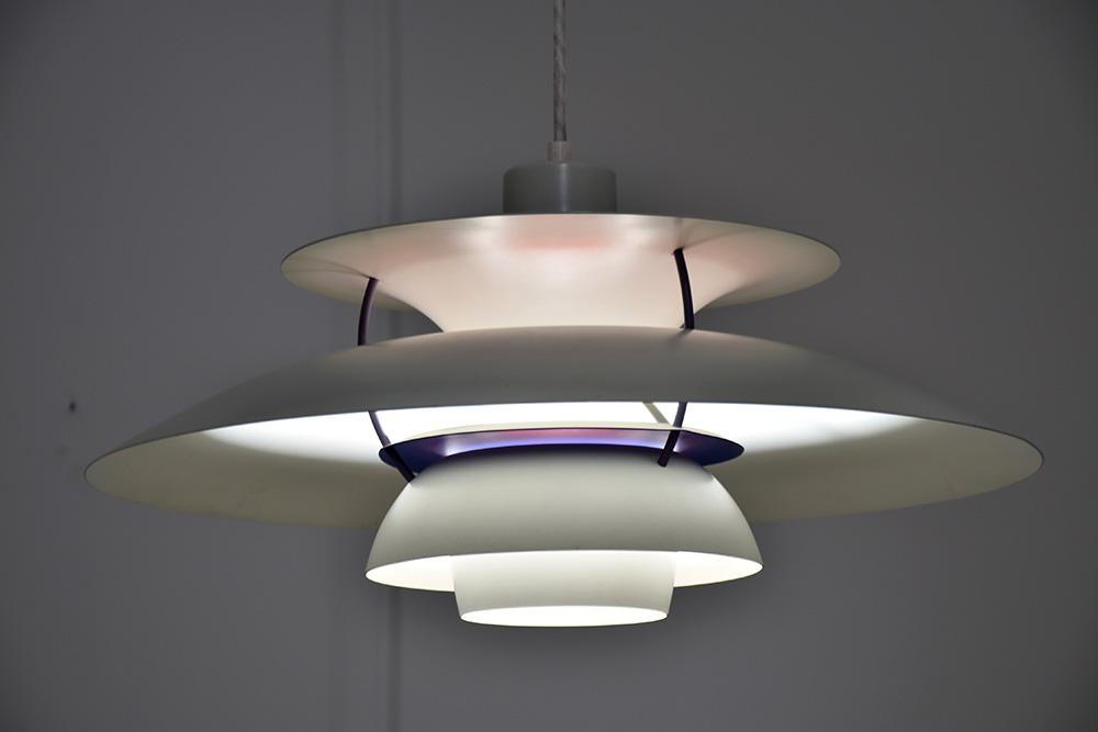 h ngeleuchte ph5 poul henningsen poulsen vintage designklassiker. Black Bedroom Furniture Sets. Home Design Ideas