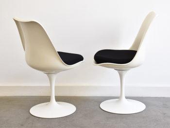 5er Set Tulip Stühle, Eero Saarinen, Knoll