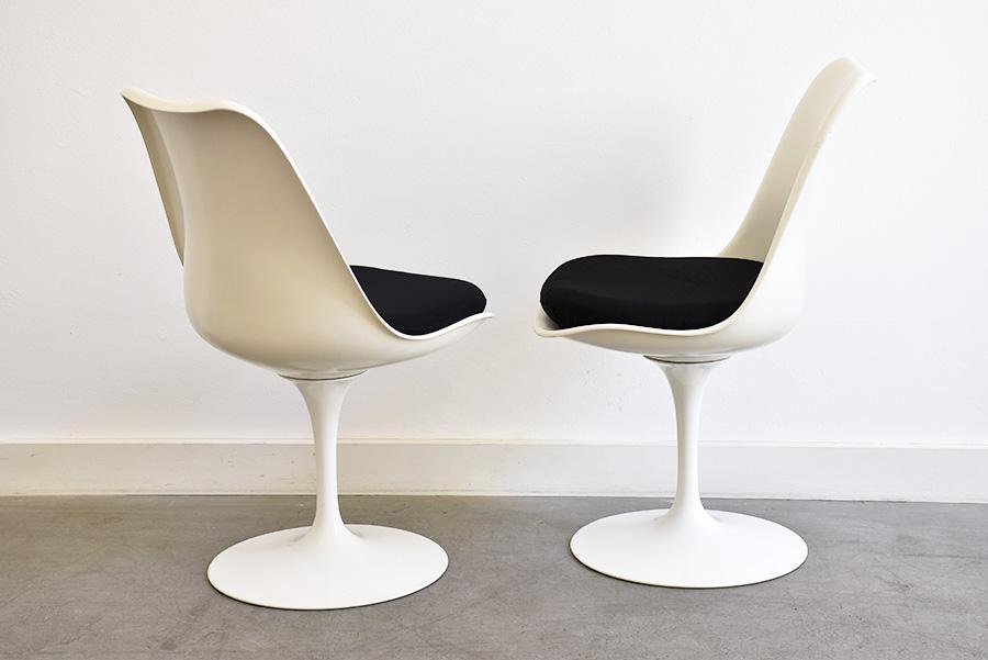 saarinen 5 chaises tulipe knoll vintage lausanne suisse. Black Bedroom Furniture Sets. Home Design Ideas