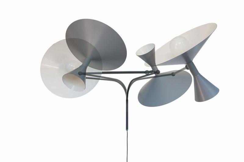 Lampe de Marseille, grau, Le Corbusier, Nemo