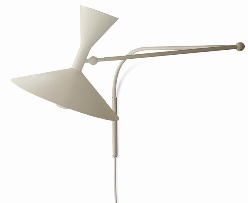 Lampe de Marseille, kalkweiss, Le Corbusier, Nemo