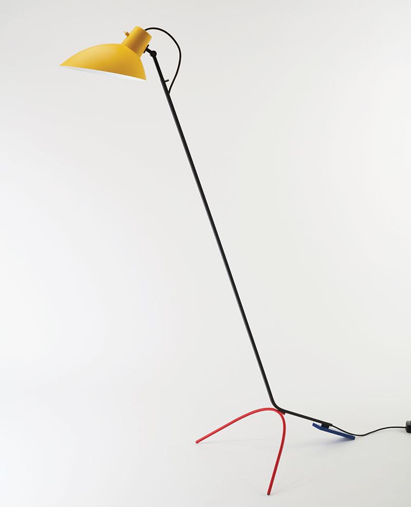 Vittoriano Viganò, lampe sur pied VV Cinquanta, Astep