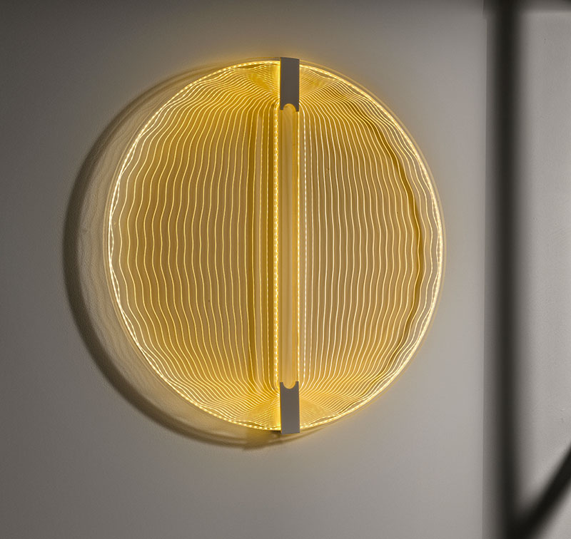 "Applique LED ""Thanks for the sun"", Arnout Meijer Studio, 2013. Photo: Erik & Petra Hesmerg"