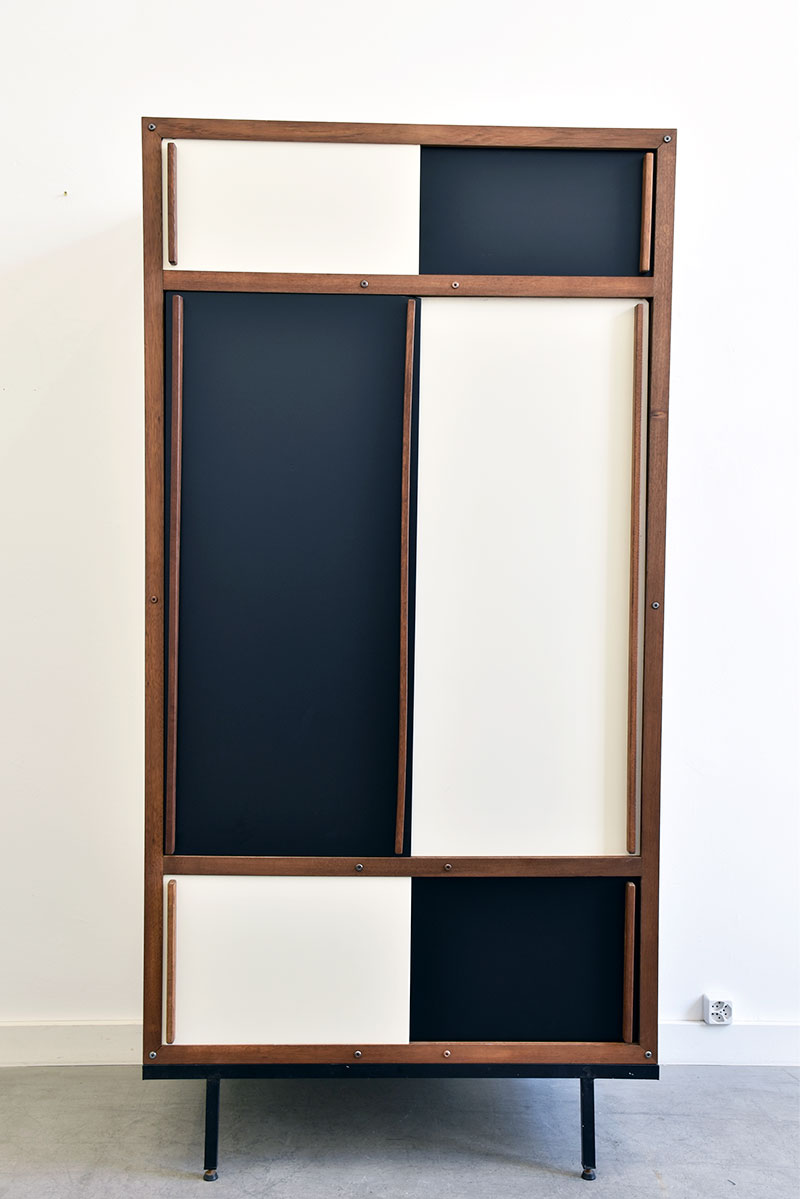 andr sornay armoire design du 20e vintage lausanne suisse. Black Bedroom Furniture Sets. Home Design Ideas
