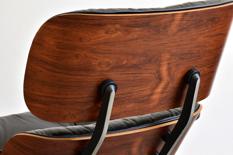 Brazilian rosewood. Lounge chair & ottoman, Charles & Ray Eames, Herman Miller