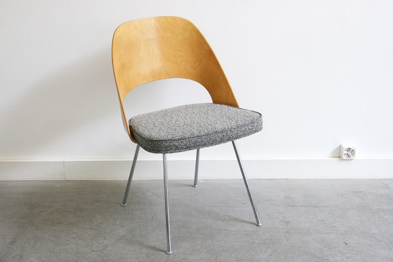 Set of 4 executive chairs, Eero Saarinen, Knoll, Wohnbedarf