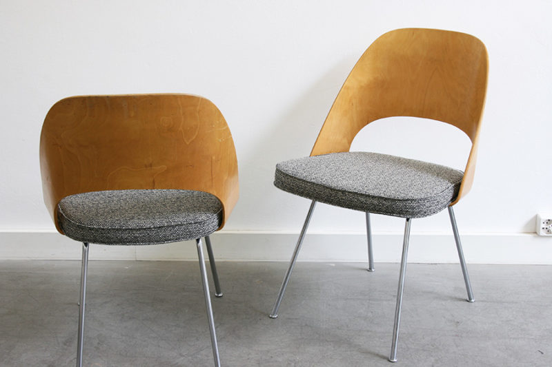 Executive chairs, Eero Saarinen, Knoll, Wohnbedarf