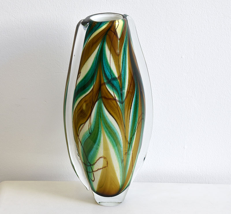 Vase V Nason C Murano Glass From The 20th Century
