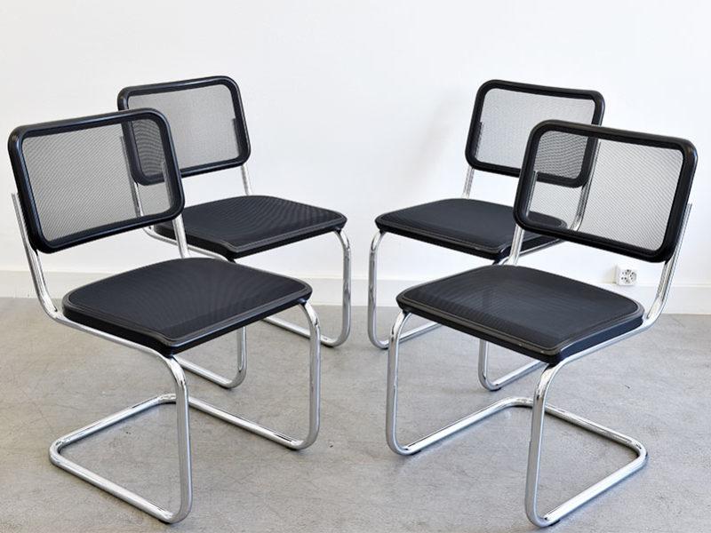 S32N Stühle, Marcel Breuer, Thonet
