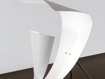 Lampe de table B201, Michel Buffet, Lignes de démarcation