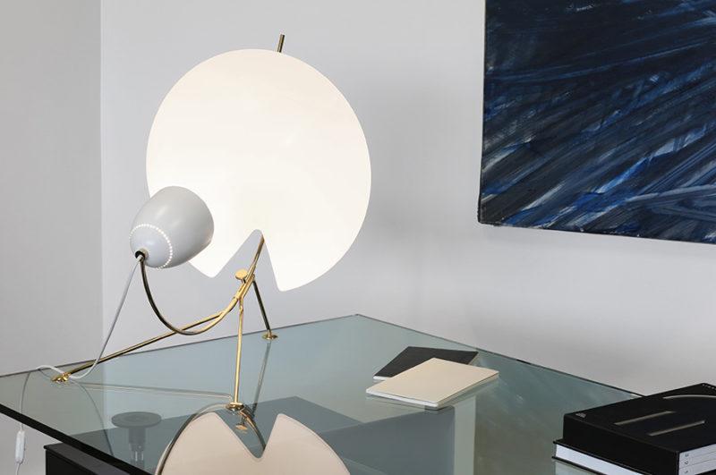 Lampe de table B208, Méridien, Michel Buffet, Lignes de démarcation.