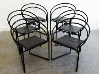 6 chaises Latonda, Mario Botta, Alias