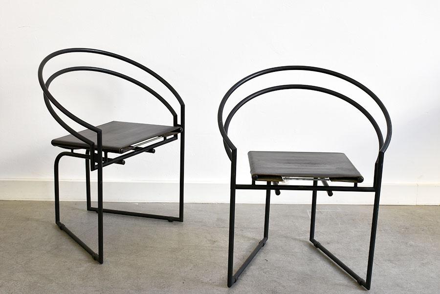 chaise latonda mario botta alias 1986 mobilier vintage suisse. Black Bedroom Furniture Sets. Home Design Ideas