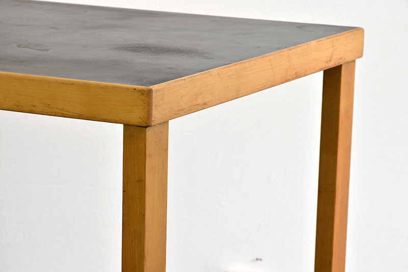 Rare straight legs table, Alvar Aalto, Huonekalu- ja Rakennustyötehdas, Finland, 1927.
