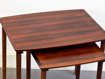 Nesting tables Nbr. 222, Møbel Intarsia, ca. 1960.