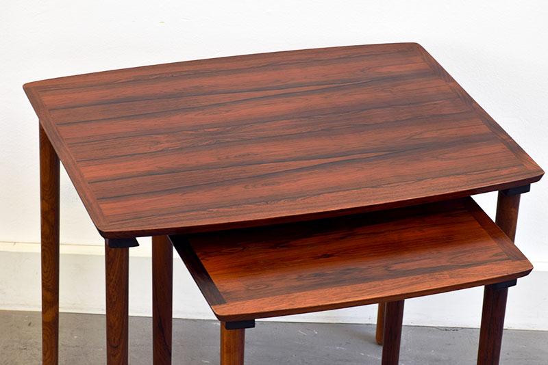 Tables gigognes n° 222, Møbel Intarsia, ca. 1960.