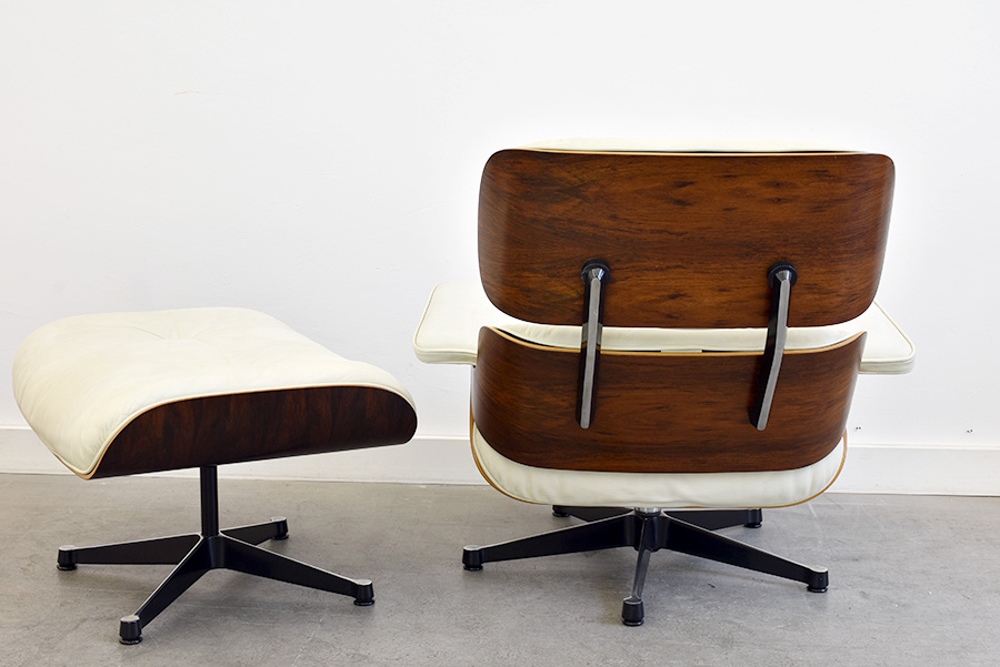 Lounge chair avec ottoman (N° 670 & N° 671), Charles & Ray Eames, Vitra, 1956