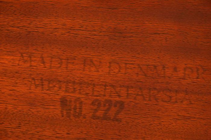 n° 222, Møbel Intarsia, Made in Denmark