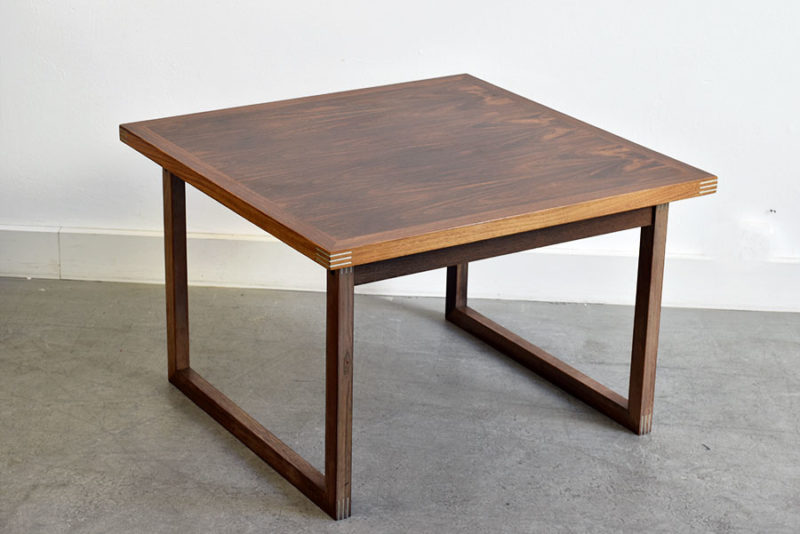 Table basse en palissandre, Rud Thygeseb, Heltborg Møbler