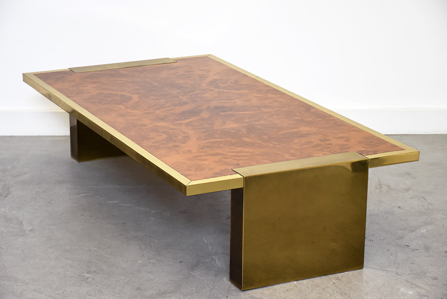 Large Coffee Table Italian Vintage Design 1970 Shop In Switzerland