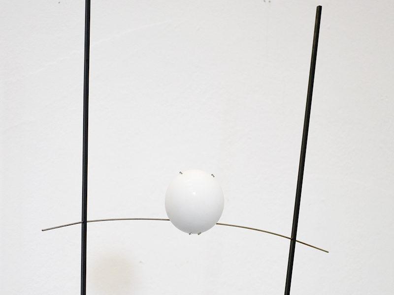 Ilios Stehlampe, Ingo Maurer und Franz Ringelhan, Design M, 1983