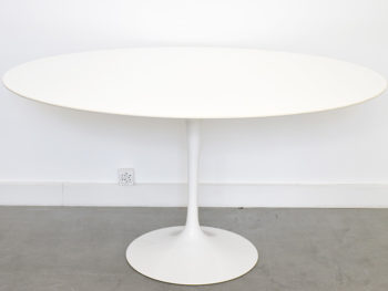 Table tulipe ovale 137 cm, Eero Saarinen, Knoll, 1956