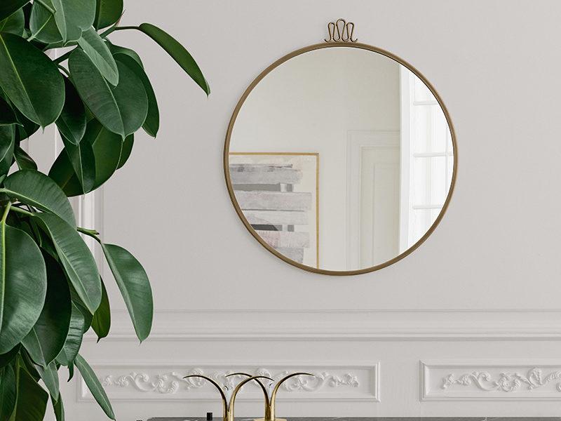 Randaccio mirror, ø 70cm, Gio Ponti, Gubi