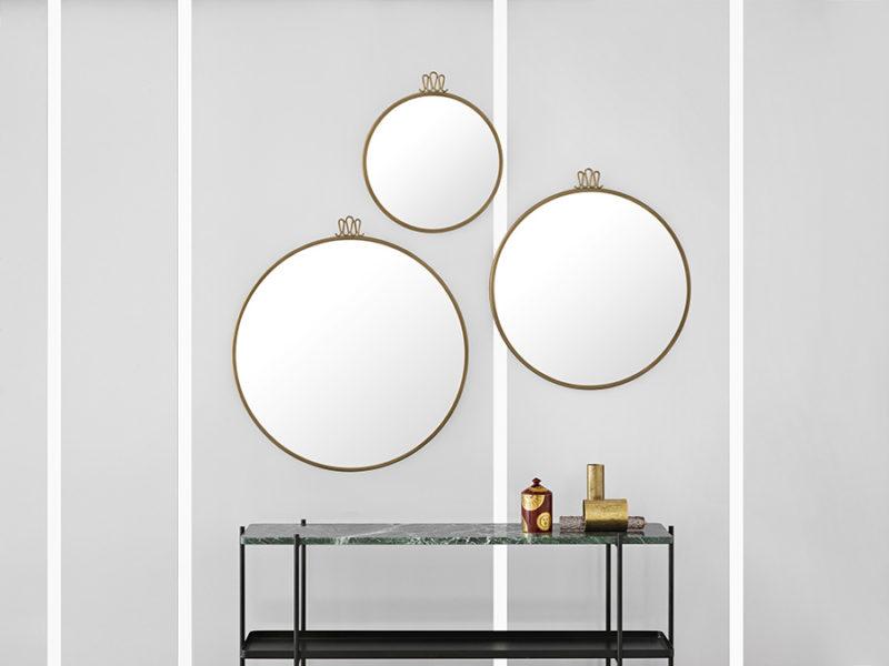 Randaccio mirror, Gio Ponti, Gubi